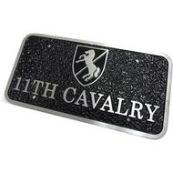 Cast Bumper Plaque