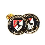 11th Armored Cavalry Pin