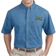 Denim Short Sleeve with Sabers